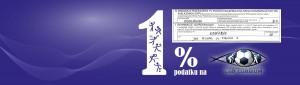 Corcordium 1 % podatku